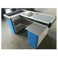 Buy cheap Custom-made Steel Shop Cashwrap / Cash Desk And Table For Supermarket from wholesalers