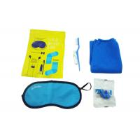 China Original Airline Amenity Kits / Five Contents Pack In Fresco Bag Travel Set wholesale