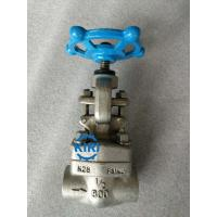 China Class 800lb Forged Steel Globe Valve F316L Premium Materials Long Service Life wholesale