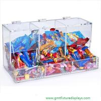 China Acrylic Candy Box Candy Bin Candy Display Bulk Candy Display Case for Retail Store or Supermarket on sale