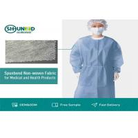 China Non Toxic Medical Breathable Non Woven Fabric Disposable Surgical Gown Fabrics wholesale