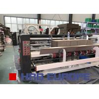 Buy cheap Corrugated Carton Box Folder Gluer Machine Siemens System Electric Driven from wholesalers