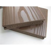 China Outside Solid Pvc Vinyl Flooring Boards with Coffee , ASA Surface Coextruded wholesale