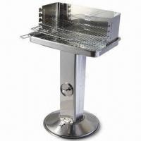 China 53.5 x 34cm Charcoal Barbecue Grill, Measures 58 x 38.5 x 88.5cm wholesale