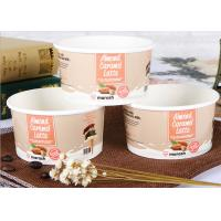 Buy cheap Personalized Branded Paper Cups / Bowls , Insulated Disposable Soup Bowls from wholesalers