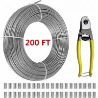 China T316 Stainless Steel 1/8 Aircraft Wire Rope For Cable Railing Kits 200 FT on sale