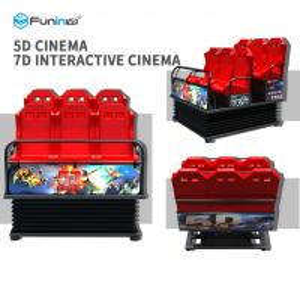 China 12 Seats 5D 7D Movie Simulator Cinema Sports And Entertainment Equipment wholesale