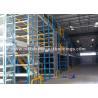 China Plataformas de trabajo de acero industriales de los edificios prefabricados seguros del metal con la puerta del panel de bocadillo wholesale