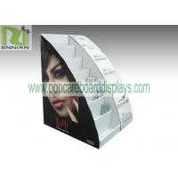 Cosmetic table displays cardboard cosmetic displays sunglasses displays with customized design  ENCD004