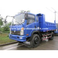 China Left Hand Driving Small Heavy Duty Dump Truck 150hp , 8.25R16 Radial Tire wholesale