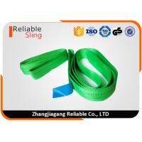 China One Way Round Endless Lifting Slings Wear Resistant 100% Polyester Material wholesale
