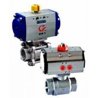 China Sell 3PC Full Bore Stainless Steel Pneumatic Ball Valve wholesale