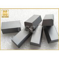 China YG6 Type Carbide Brazing Tips HRA 90.5 , Cuboid Cemented Carbide Tool Tips wholesale