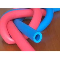 China Customized Printed Silicone Foam Tubing , High Temperature Silicone Sponge Rubber Tube wholesale