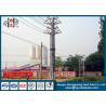 China O zinco revestiu a linha de transmissão Polos de aço tubulares de 69 quilovolts com o certificado do ISO wholesale