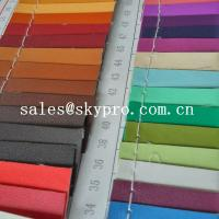 China 0.8mm sofa Leather high quality black pvc leather 3D printing pu leather fabric on sale