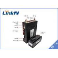 Buy cheap Portable Digital Wireless Audio Video Transmitter For Communication Vehicle NLOS from wholesalers
