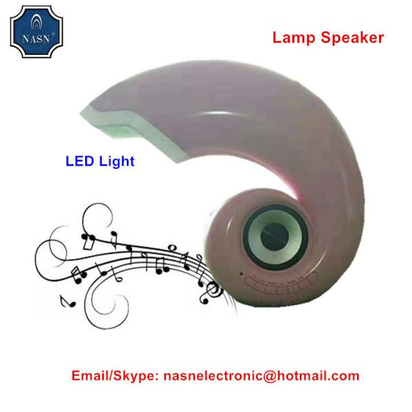 Quality Best Conch Light Speaker with bluetooth pro series speaker support TF/USB port made-in China for sale