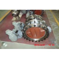 China Pneumatic Piston Carbon Steel High Temperature Butterfly Valves CE TRCU ISO9001 on sale