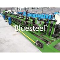 China Interchangeable C Purlin Roll Forming Machine Green / Blue Automatic C Type wholesale