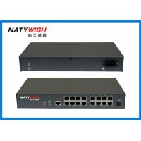 Buy cheap High Density SC / PC Connector MDU ONU , 16 Port Fast Ethernet MDU FTTH ONU from wholesalers