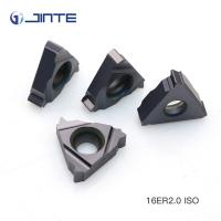 China 16IR 2.0ISO high precision ISO metric carbide threading inserts wholesale