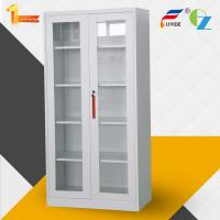 Buy cheap Factory price High quality glass door steel office metal cupboard with shelves from wholesalers