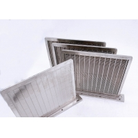 China Rectangular V Wire 1*2mm Stainless Mesh Screen 0.4mm Slot wholesale