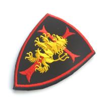 Buy cheap Custom Decorative Clothing Patches Embroidery Armband Fabric Uniform Security from wholesalers