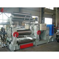 China Bored Roll Rubber Two Rollers Mixing Mill , PVC Plastic rolling mill equipment on sale