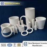 China Wear Resistant Alumina Ceramic Pipe Liner for Material Conveying System on sale