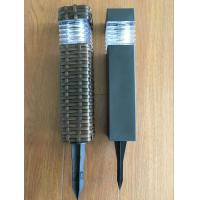 Buy cheap Black Finished Solar Glass Lens Lights , Outdoor Solar Post Lights from wholesalers