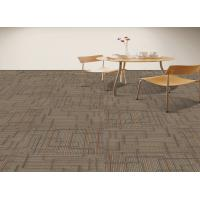 China Grey Office Carpet Tiles 100% Universal Nylon Material Multi - Level Loop wholesale