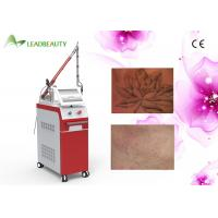China 1064nm & 532nm & 1320nm Q Switched Nd Yag Laser Tattoo Removal Equipment For Clinic wholesale
