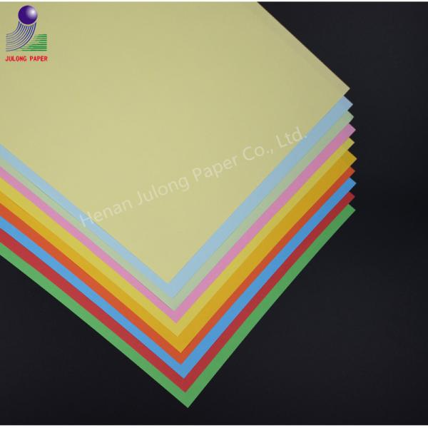 Quality A4 size colorful inkjet 80g uncoated A3 copy paper offset paper for sale