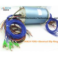 China 12 Channels 36 Circuits Electrical Slip Ring Fiber Optic rotary union 200 - 400 Million Revolutions FORJ wholesale