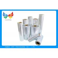 China 40 / 45mic Transparent Blown PVC / Cast PETG Shrink Film For Bottle Shrink Label wholesale