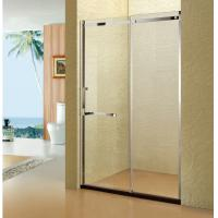 China 8mm SS304 Shower Clear Shower Screen Glass Shower Customerized Size wholesale