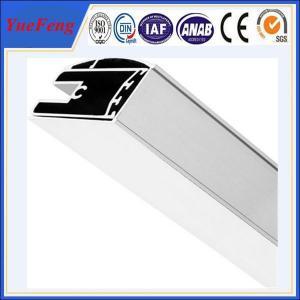 China aluminum shower screen profile manufacturer, polishing aluminium profiles shower enclosure on sale