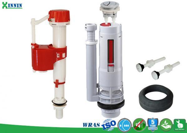 Quality Garnitures universelles de réservoir de toilette pour le double réservoir en plastique affleurant/toilette en céramique for sale