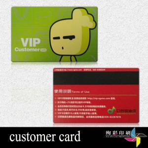 China CR 80 Standard size PVC Magnetic Stripe Cards,Matt, Glossy Surface wholesale