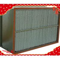China 1220x610x220mm stainless steel (SUS304 316L) metal frame high temperature HEPA filter on sale