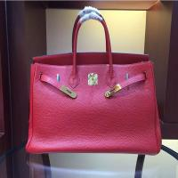 China women high quality 35cm red famous brand handbags TOGO leather bags hanbags fashion bags L-RB2-5 wholesale