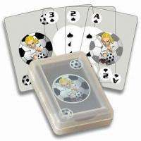 China PVC Playing Cards, Waterproof, Customized Colors and Logos are Accepted wholesale