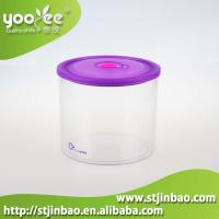 China 3pcs BPA Free Plastic Airtight Food Storage Canister Set Factory Wholesale with Eco-friendly on sale