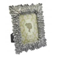 China Gold Leaf Design Antique Style Photo Frames With Picture Ornate Velvet Easel 4x6 wholesale