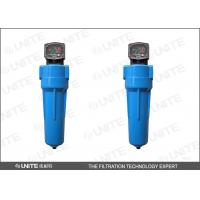 China Automatic drain Compressed Air Filters Housing / High pressure gas filter on sale