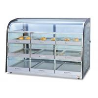 Buy cheap Table Top Glass Food Warmer Showcase Drawer-Type 3-Layer 9-Pans Bread Display from wholesalers