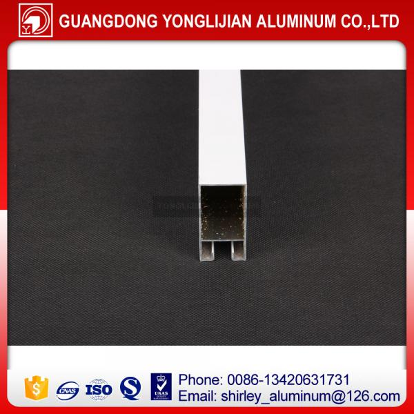 Quality Powder coated aluminum window frame extrusion in China for sale