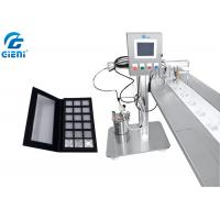 China Cosmetic Eyeshadow Power Case Gluing Machine With Touch Screen 0.75KW Power wholesale
